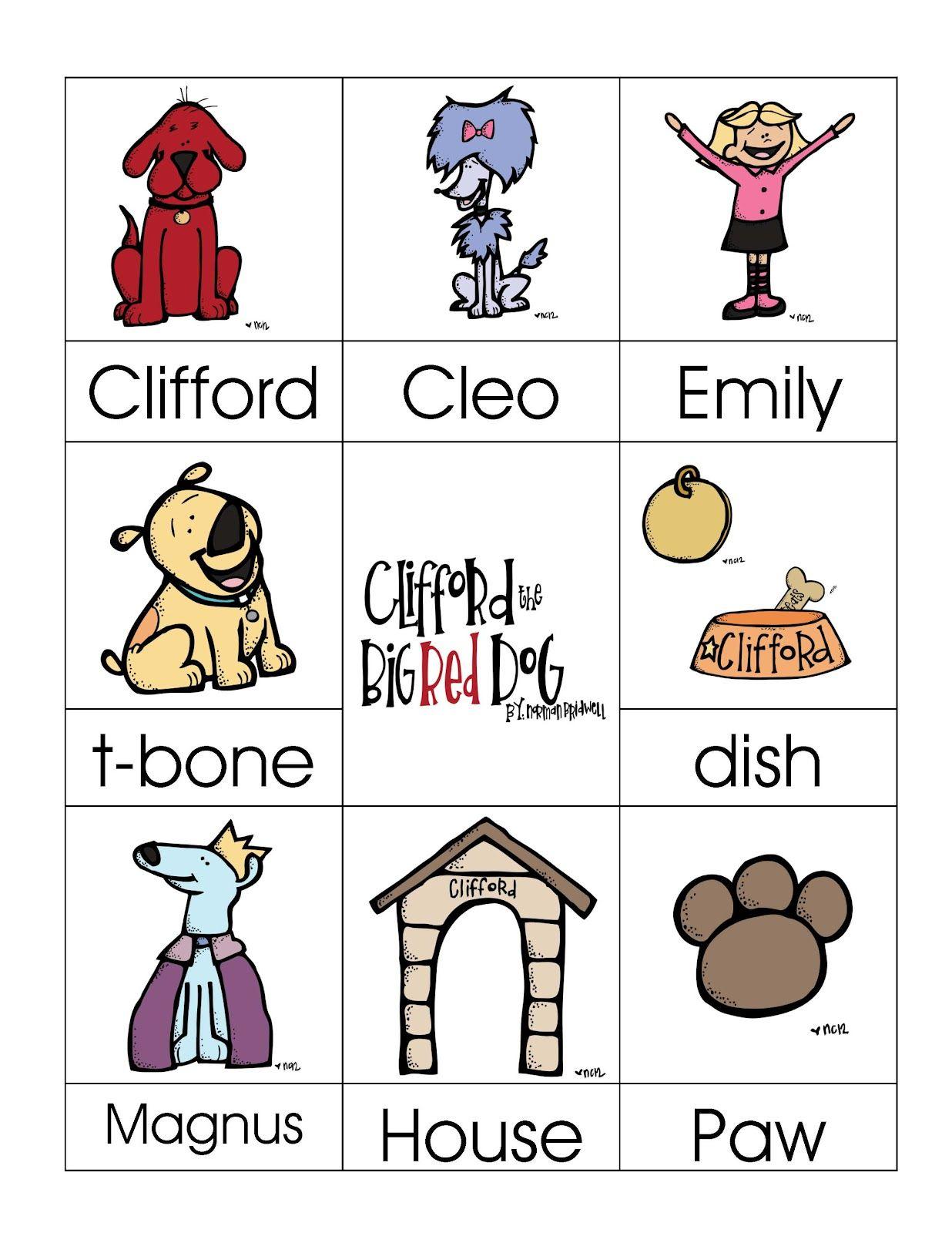 Imprimible perros :: Preschool Printables from Books «Fiesta gatos y ...