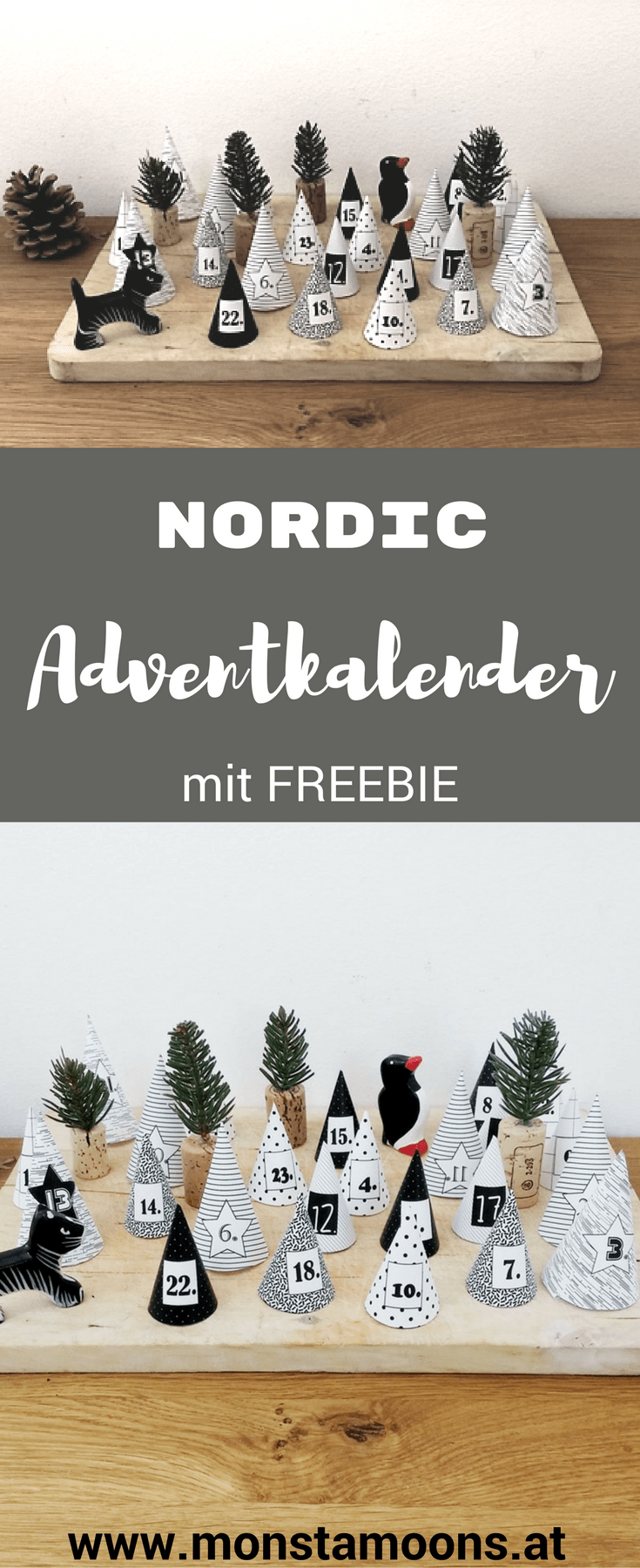 Nordic Adventkalender mit Freebie