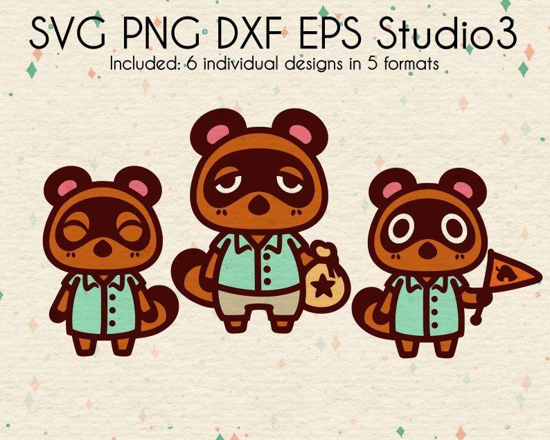 Timmy Tommy Tom Nook Bundle Files Animal Inspired Design Etsy In 2020 Animal Crossing Tom Nook Animal Crossing Etsy
