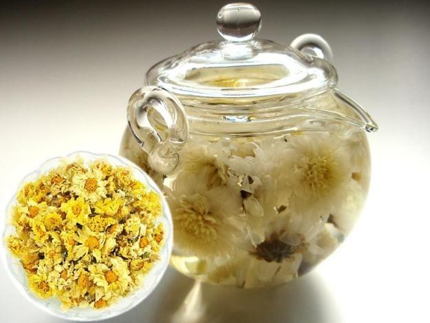 Edible Flowers For Blooming Table Decoration With Flowering Teas Chrysanthemum Tea Flower Tea Blooming Flower Tea