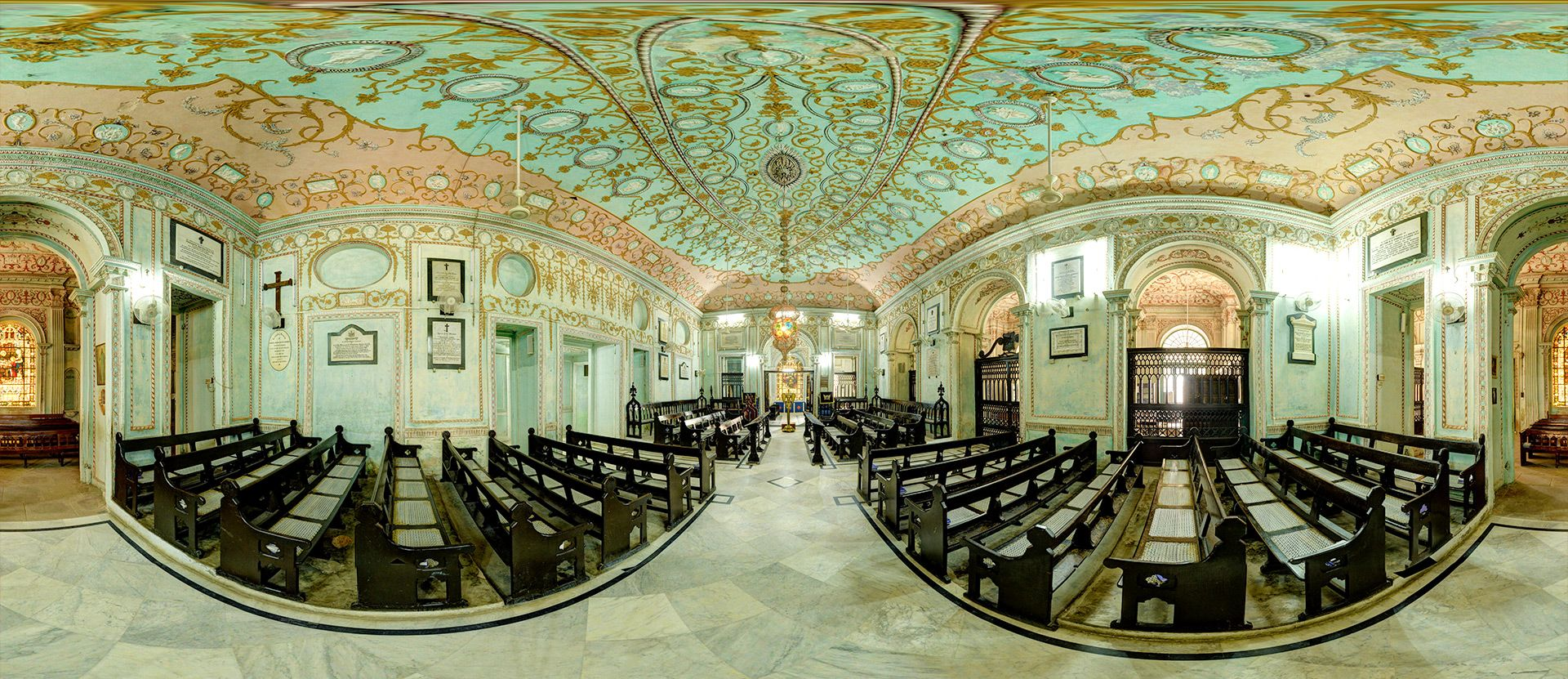 360 Panorama Of The La Martiniere College Church Degree Throw Your Ball Camera To Take Panoramic Photos
