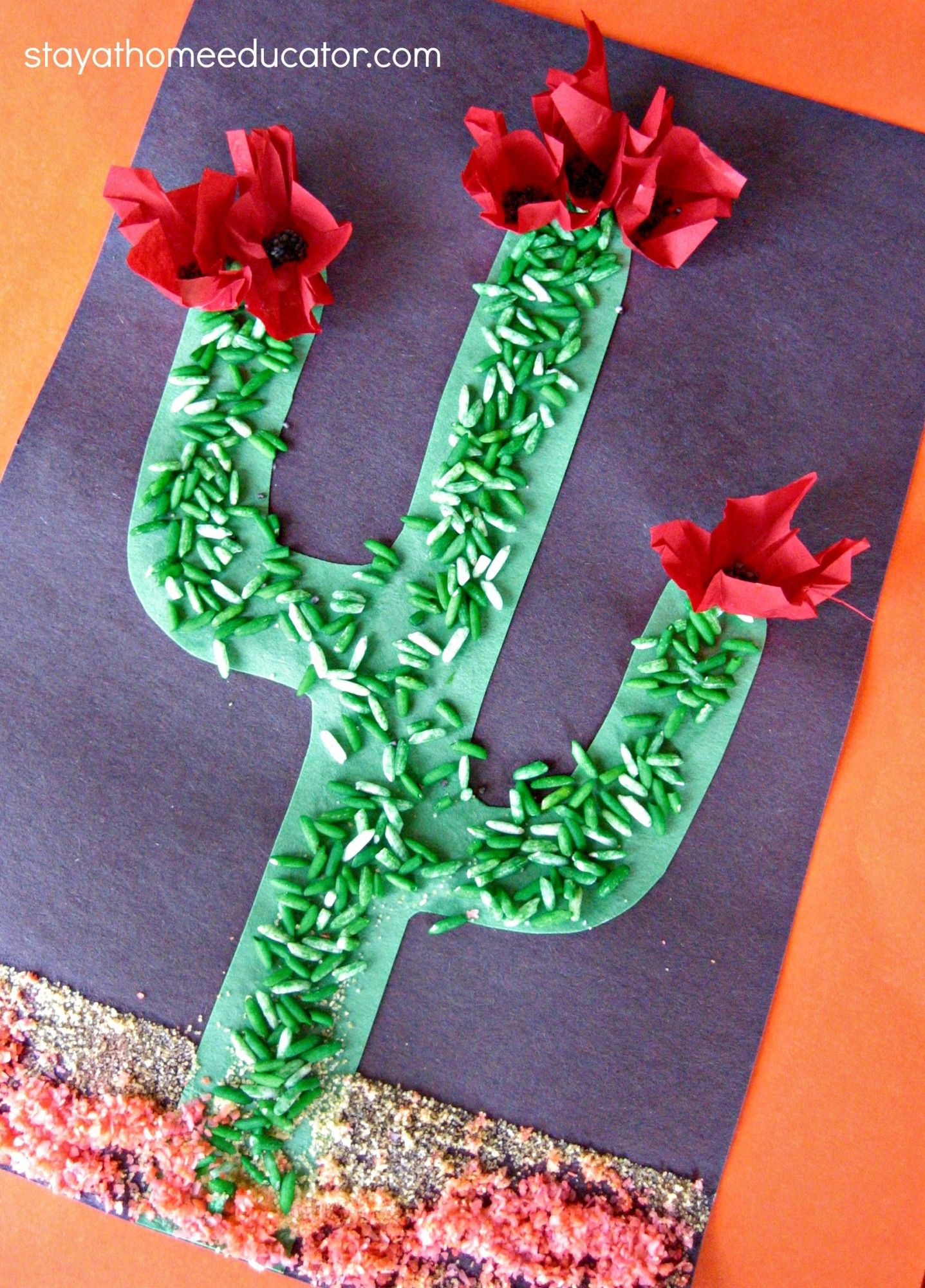 Sensory Cactus Craft With Images