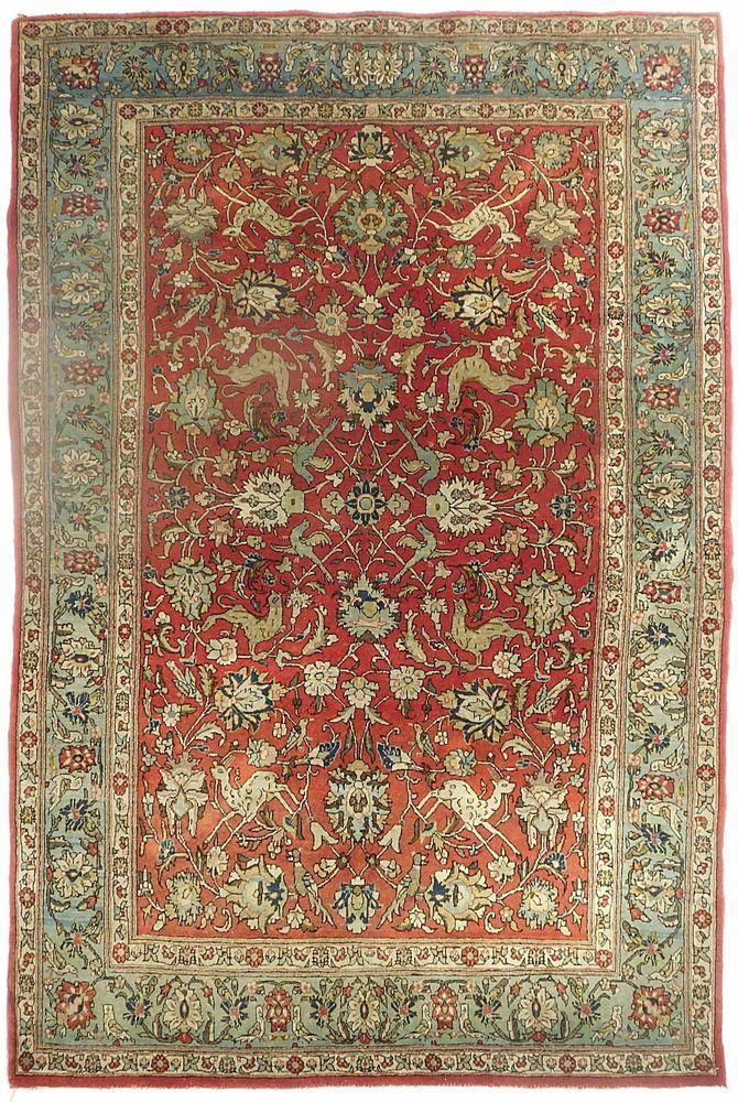 Antique Persian Garden Rug