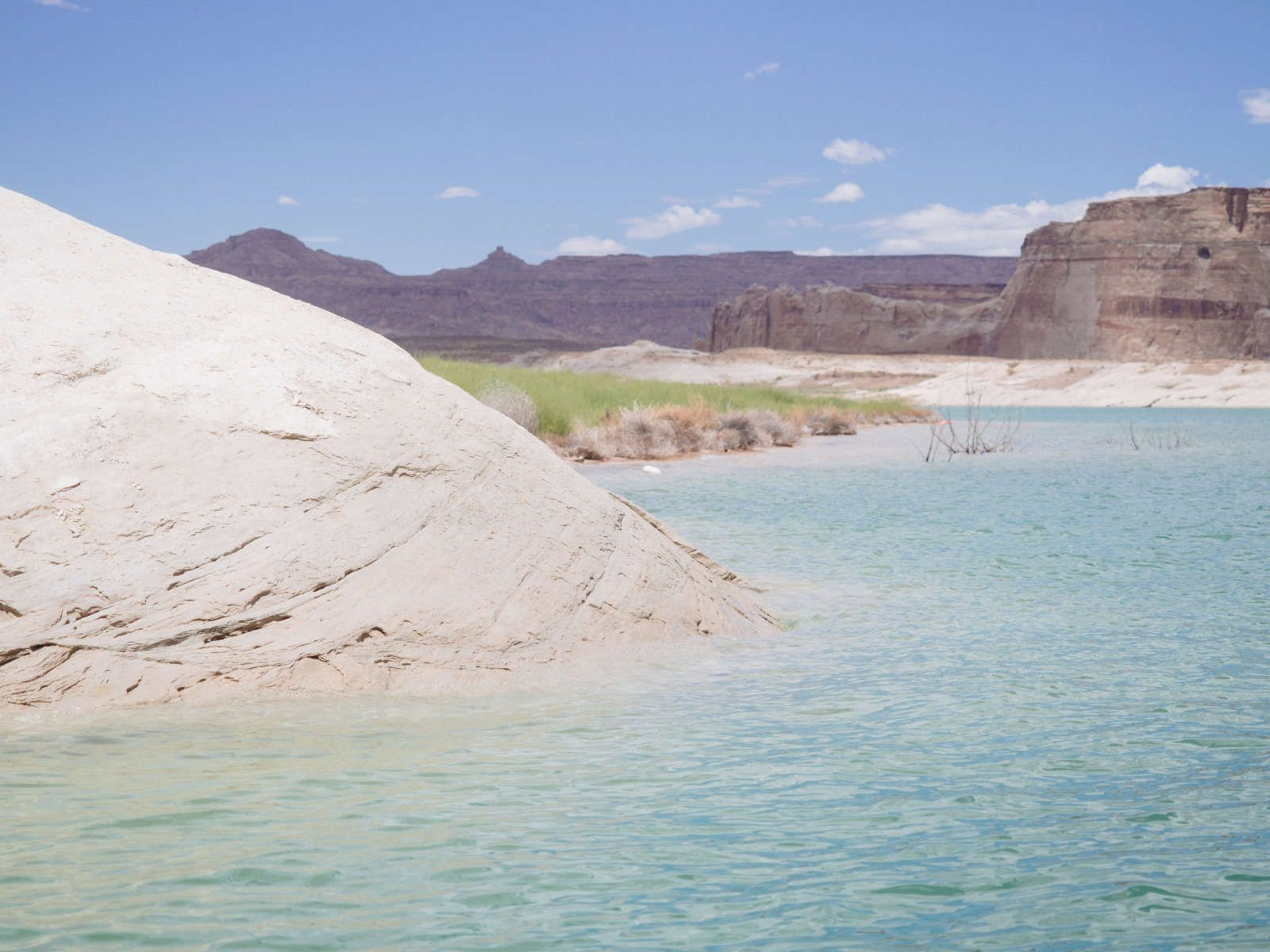 Lone Rock Beach Primitive Camping In Glen Canyon Utah Get Back To Basics On Lake Powell S Wahweap Bay Over At Campground