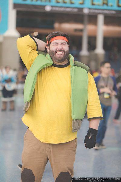 Hunk Voltron Cosplay Event La Comic Con 2016 Photography