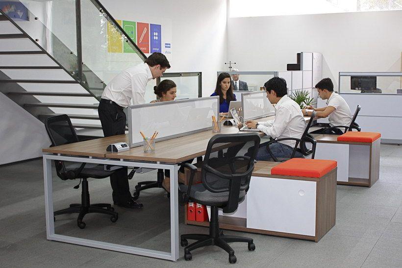 Sistemas modulares para oficina l nea skand muebles for Modulares para oficina