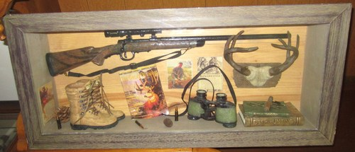 Deer Hunting Decorative Shadow Box Picture Frame Hunting