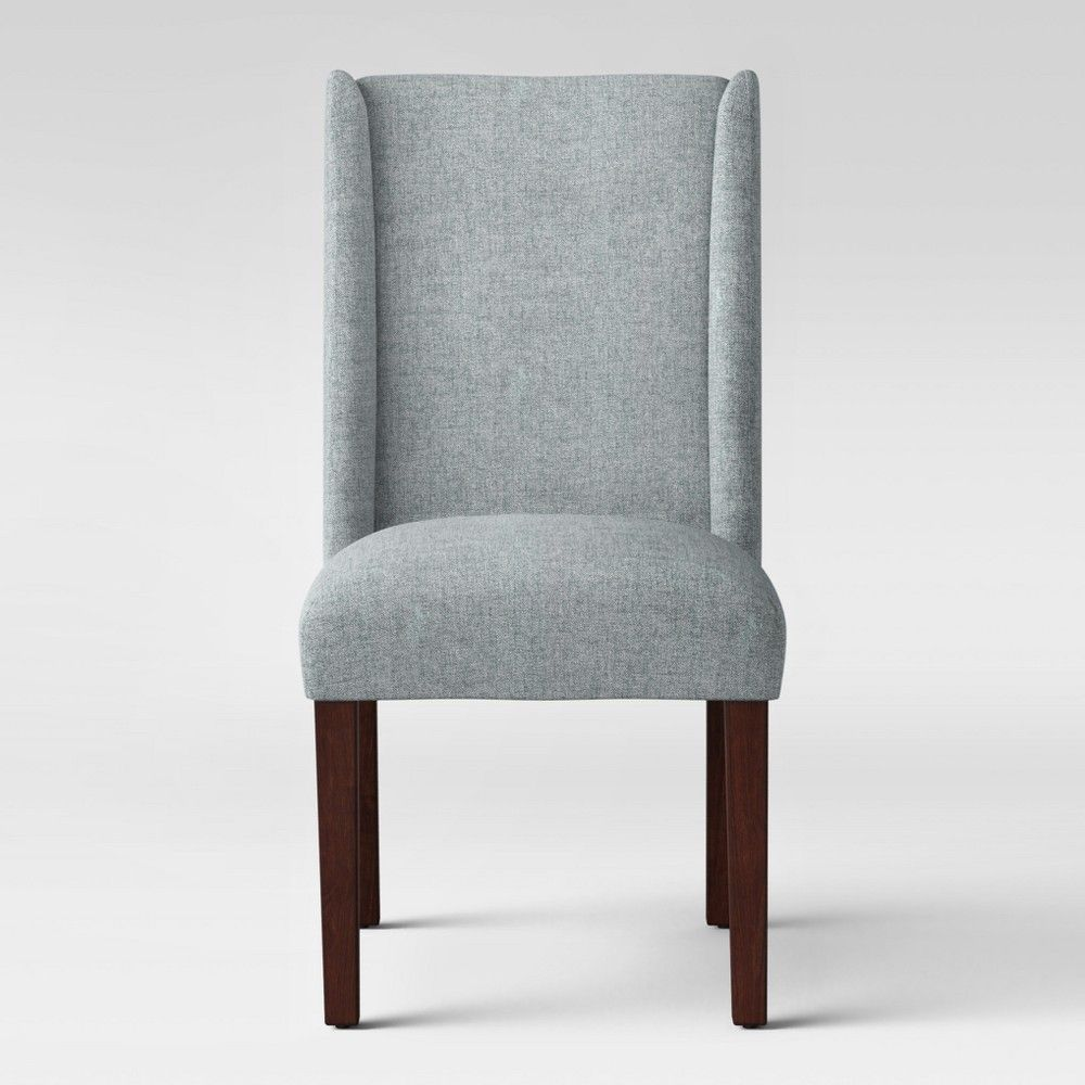 Lowell Modified Wingback Dining Chair Gray Threshold Size