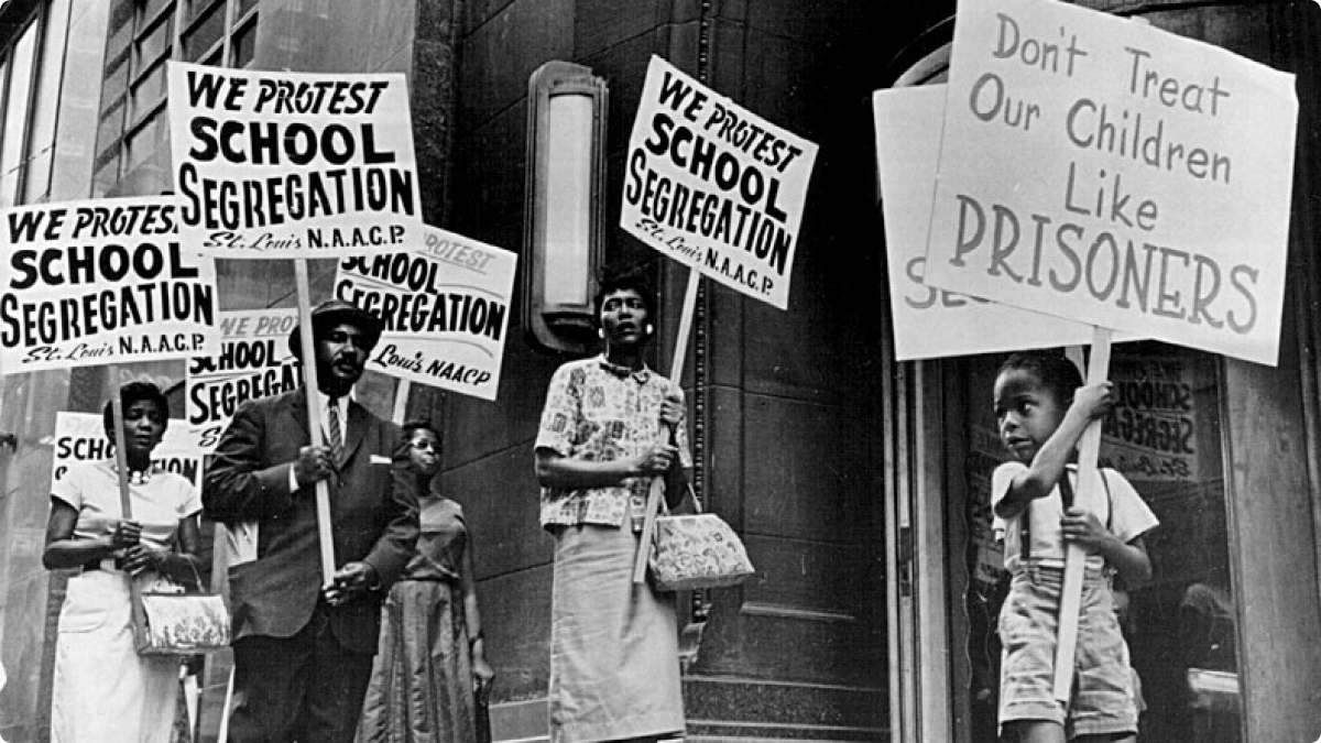 segregation schools In a nation with 44 percent non-white students and extreme inequality in educational attainment, it's time we address these issues as seriously as we did during the civil rights era we have become a nation that accepts separate and unequal schools as if nothing can be done about segregation as a.