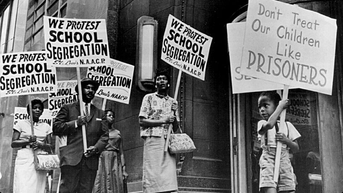 segregated schools video real footage - 1200×675