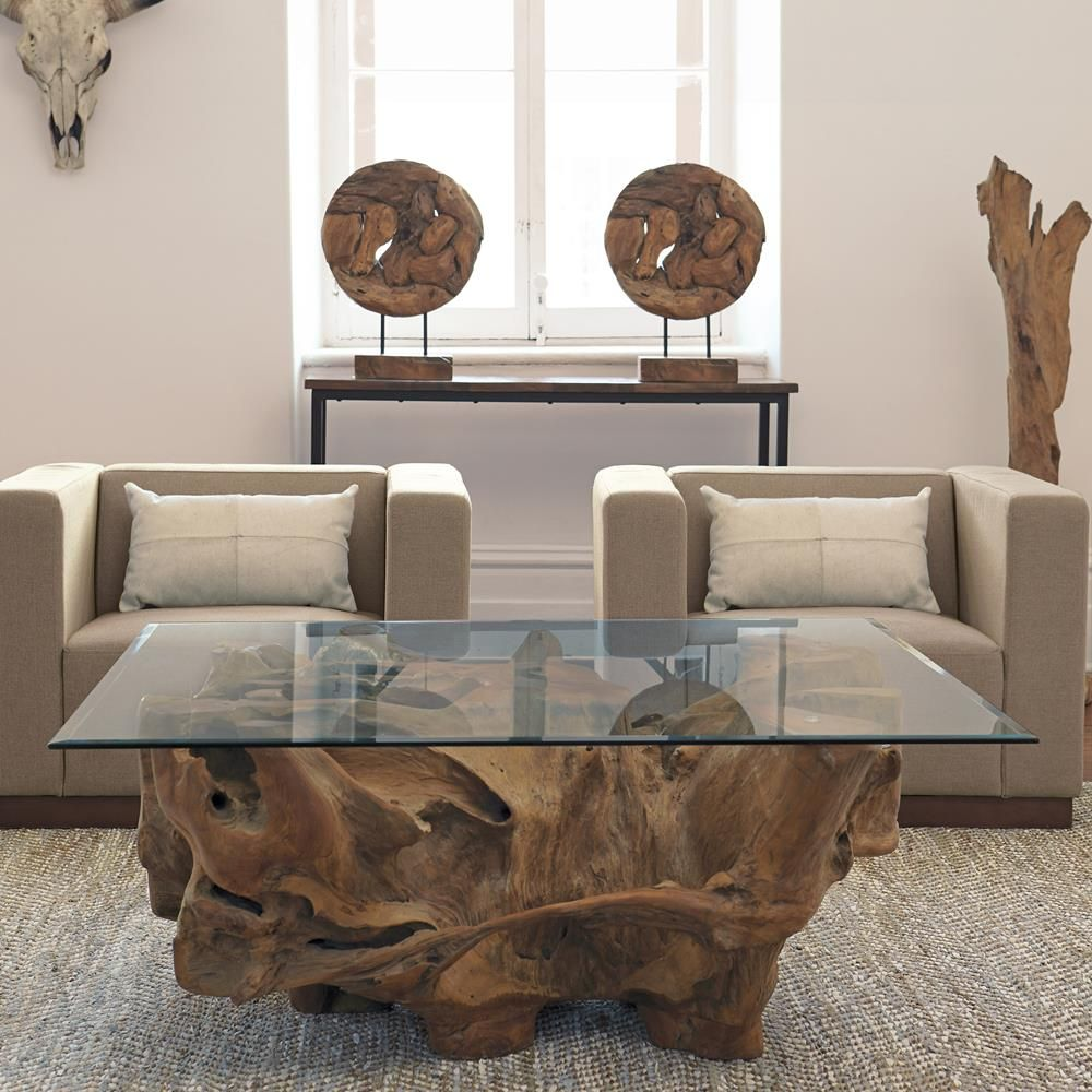 Atelier World Traveler Teak Root Coffee Table Coffee Tables