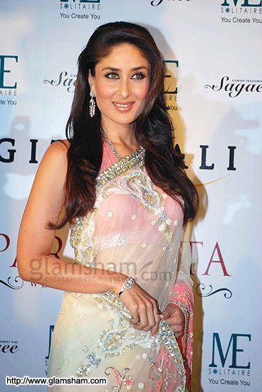 Kareena In Saree   Desi Divaz: Desi Divas In Saree (Katrina, Kareena, Payel, Priyanka ...