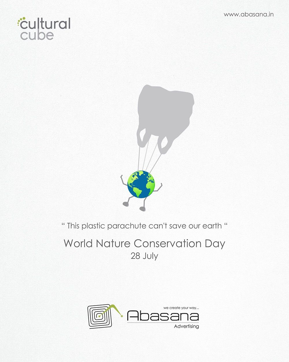World Nature Conservation Day Creative Poster Design Creative Posters Creative Advertising