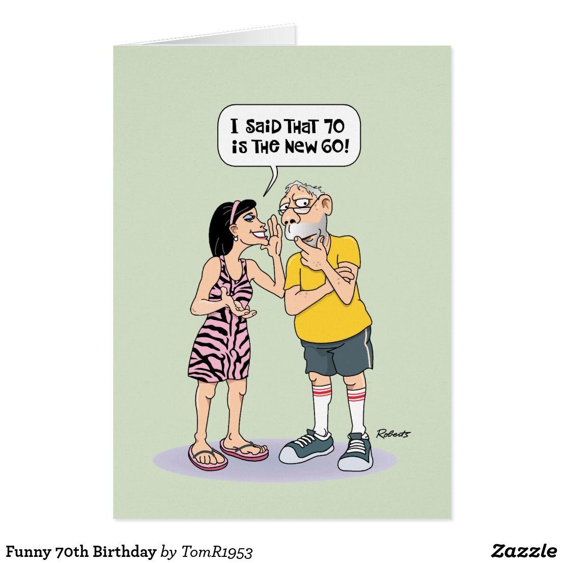 Funny 70th Birthday Card Funny Birthday Cards And Ideas