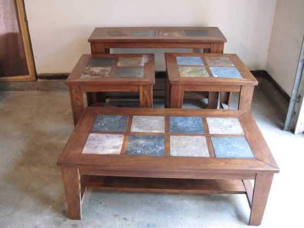 We Have A New Set Of Ashley Furniture Living Room Accent Tables