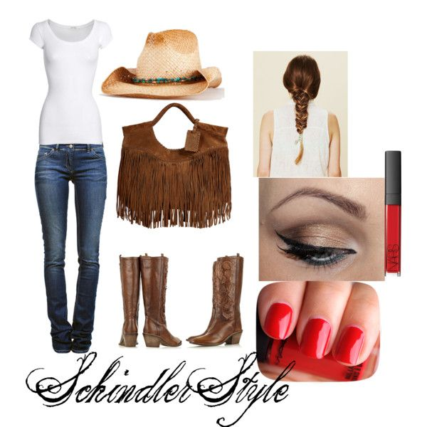 """""""Bring out the CowGirl in You"""" by heatherschindler on Polyvore"""