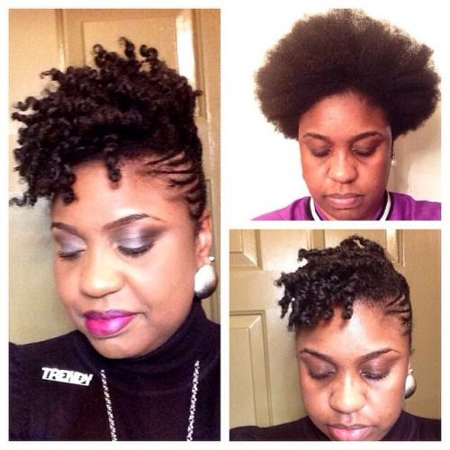 @trendysocialite Growing my tapered TWA out .  #Hair2mesmerize #naturalhair #healthyhair #naturalhairjourney #naturalhairstyles #blackhairstyles #transitioning