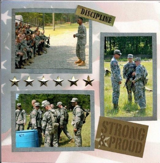 Army Scrapbook My Personal Projects Pinterest Scrapbook Army