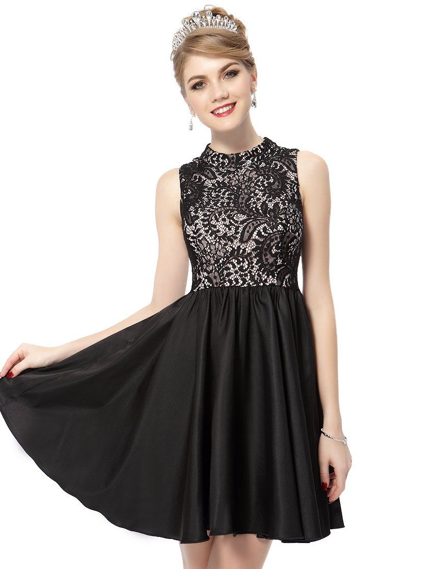 Short Black Party Dresses for Teenagers