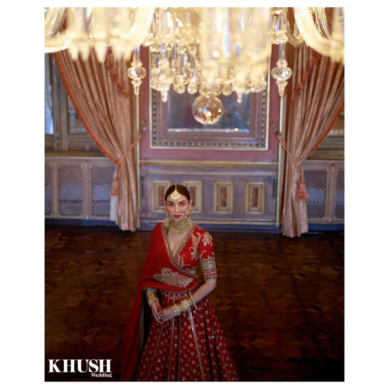Aditi Rao Hydari's Latest Bridal Shoot Is A Royalt