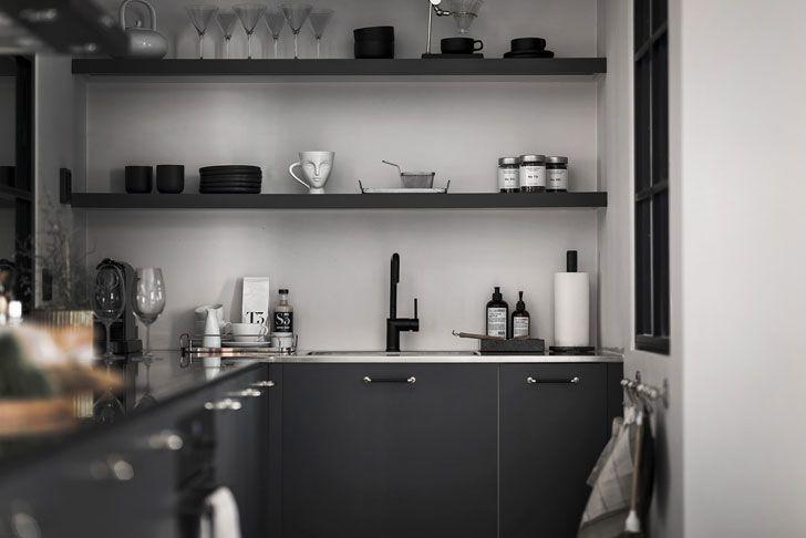Квартира в черно-белой гамме: элегантно и стильно (71 кв ...