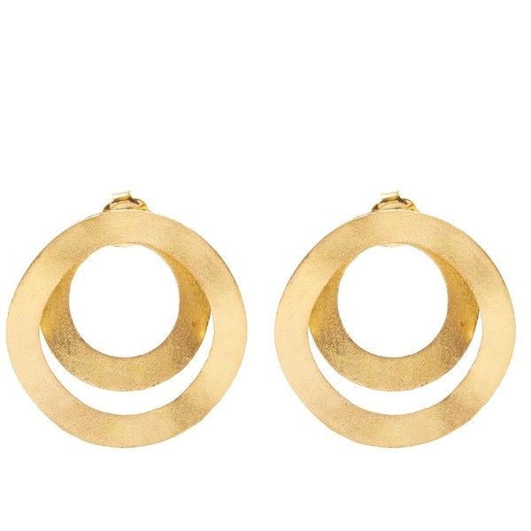 Anissa Kermiche Fair Trade yellow-gold earrings ROgbIG13Xd