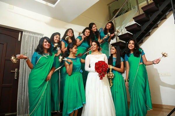 Kerala Christian Wedding Bridesmaids Weddingz Christian Wedding