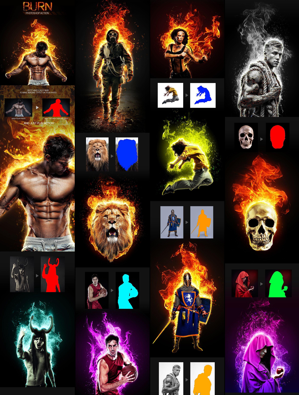 Excepcional Acción Photoshop Marco Polaroid Molde - Ideas de Arte ...