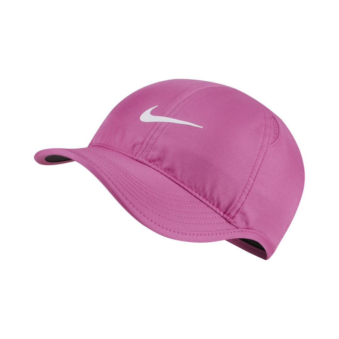 f02863f7 Nike Featherlight Adjustable Hat Size ONE SIZE (Active Fuchsia) in ...