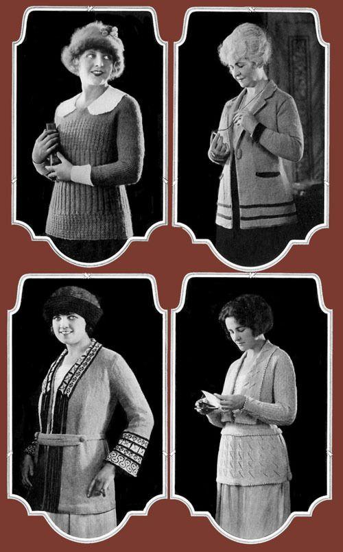 c. 1921 Minerva Yarn Knitting Book.