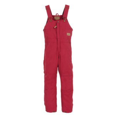 c e schmidt ladies sanded washed duck quilt lined on womens insulated bib overalls id=31119