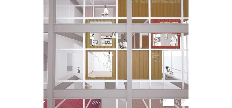 愛知県名古屋市|米澤隆建築設計事務所|上鳥羽の倉庫