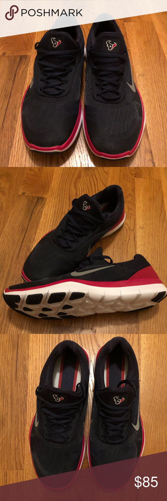 565dae2847b NWOT Men s Nike Houston Texans sneakers Men s size 10 Nike Free Trainer V7  Limited Edition Houston Texans