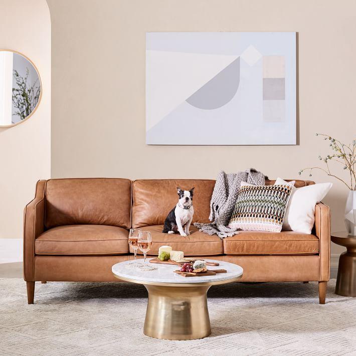Hamilton Leather Sofa in 2020 Interiors addict, Hamilton