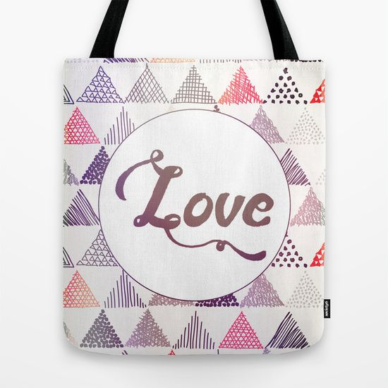 #handbag #bag #totebag #tote #purse #purple #pink #pastel #love #inspirational #triangle #shape #pattern #dots #lines