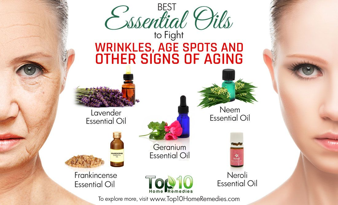 10 Essential Oils that Help Delay Skin Aging | YL Essential