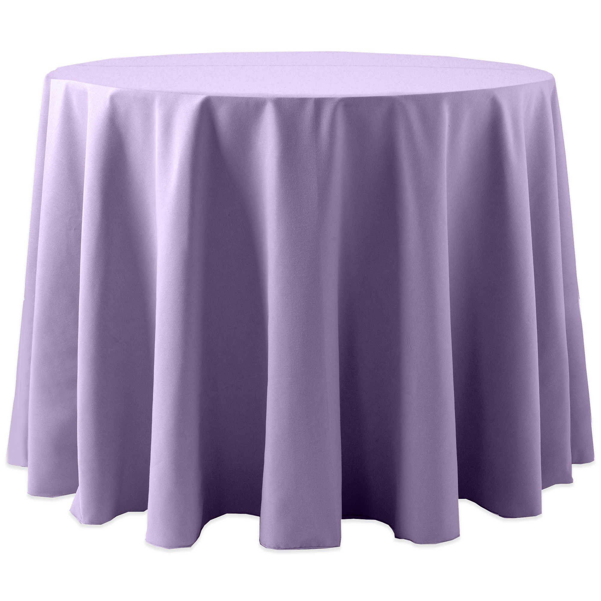 Ultimate Textile (2 Pack) Cotton Feel Spun Polyester 70 Inch Round  Tablecloth