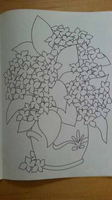 Malvorlage /Blumentopf   quilts   Pinterest   Fruit garden and Patterns