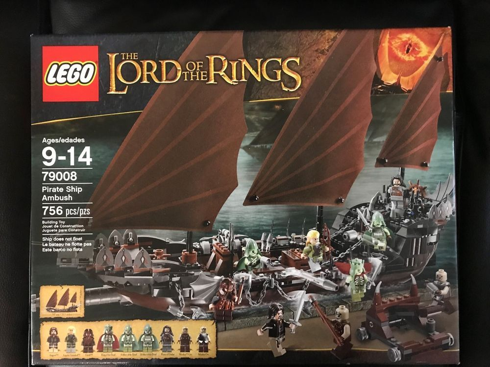 Lego 79008 Lord Of The Rings Pirate Ship Ambush Lego Pinterest