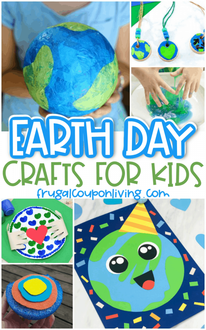 Environmentally Friendly Earth Day Crafts Ideas For Kids In 2020