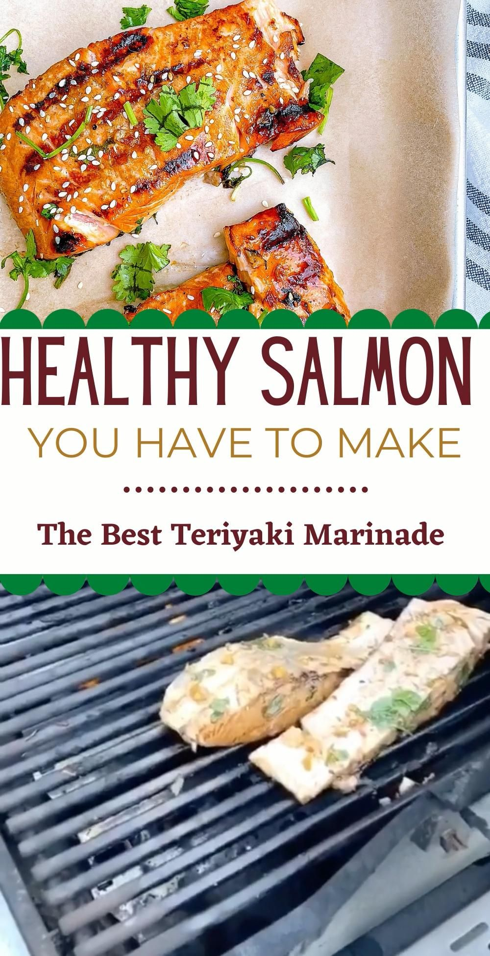 THE BEST HEALTHY SALMON DINNER