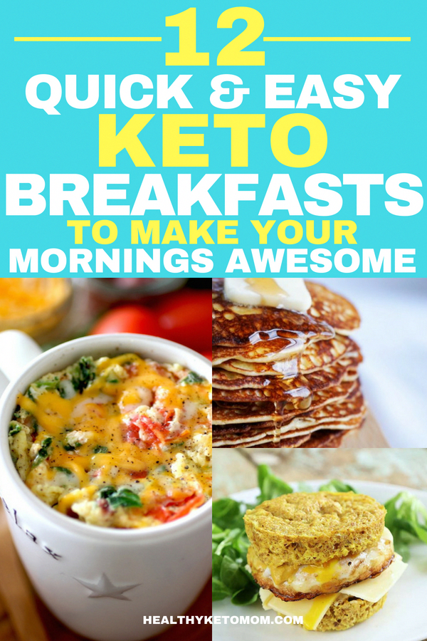 My favorite keto breakfast recipes on the go. Lose weight with these delicious breakfast recipes safe to eat on the ketogenic diet. You can have avocado toast, pancakes, waffles, smoothies and even keto breakfast cereal! The choices are endless! So I'm sharing with you quick keto breakfast recipes that you will love. #ketobreakfast #keto #ketogenic #ketorecipes #ketogenicdiet #lowcarb #KetoSausageBreakfastCasserole