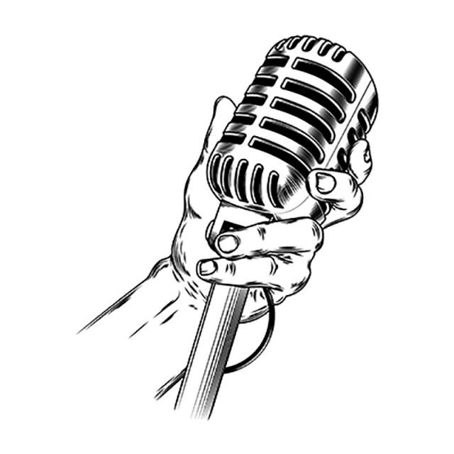 Fig Golden Microphone Png And Clipart Microphone Microphone Images Microphone Icon