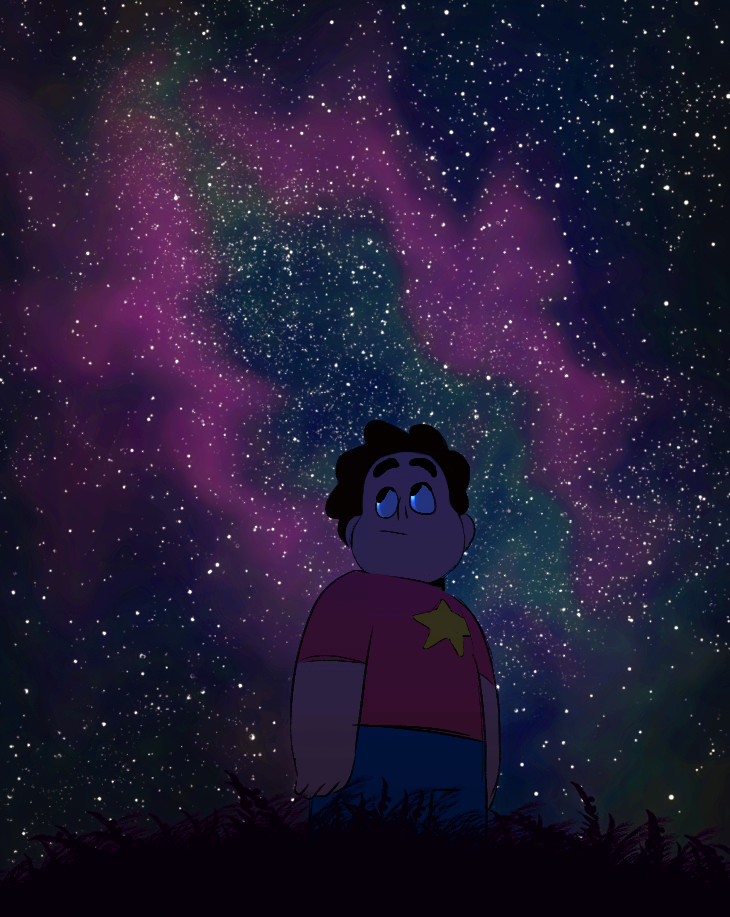 STEVEN UNIVERSE : Photo... Don't know why but in my head, I can hear Mr. Rager by Kid Cudi and Wait by M83