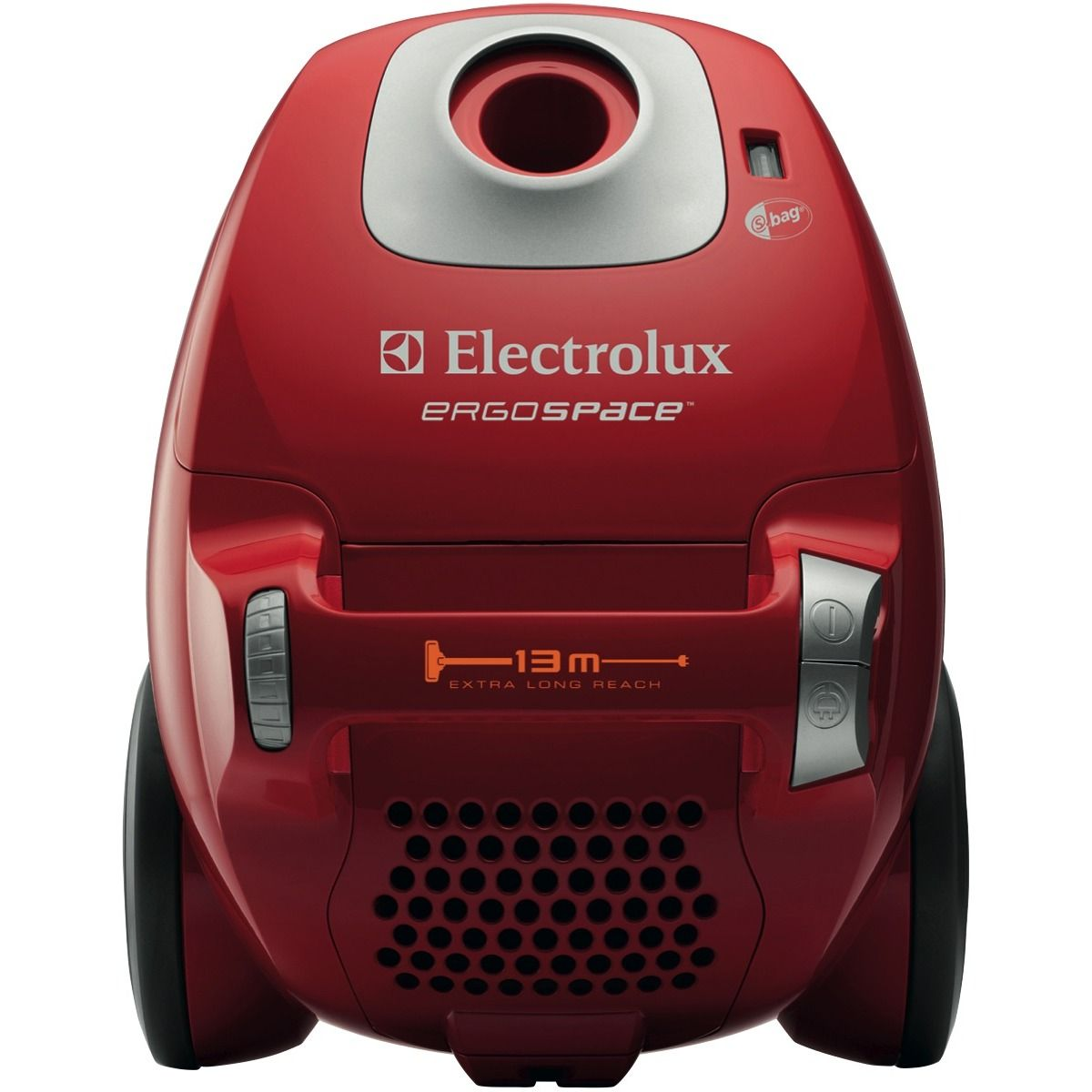 Electrolux Ze347 Ergospace Watermelon Red Bagged Vacuum At
