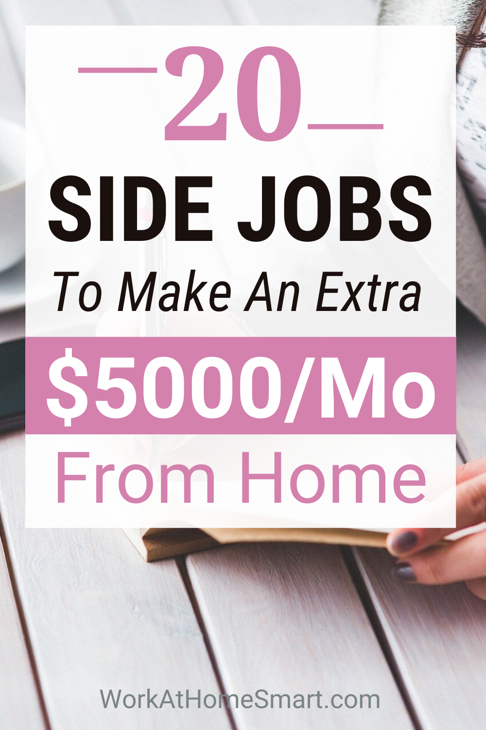 20 Online Side Jobs To Make Extra Money From Home in 2020 | Online side jobs. Side jobs. Online jobs from home