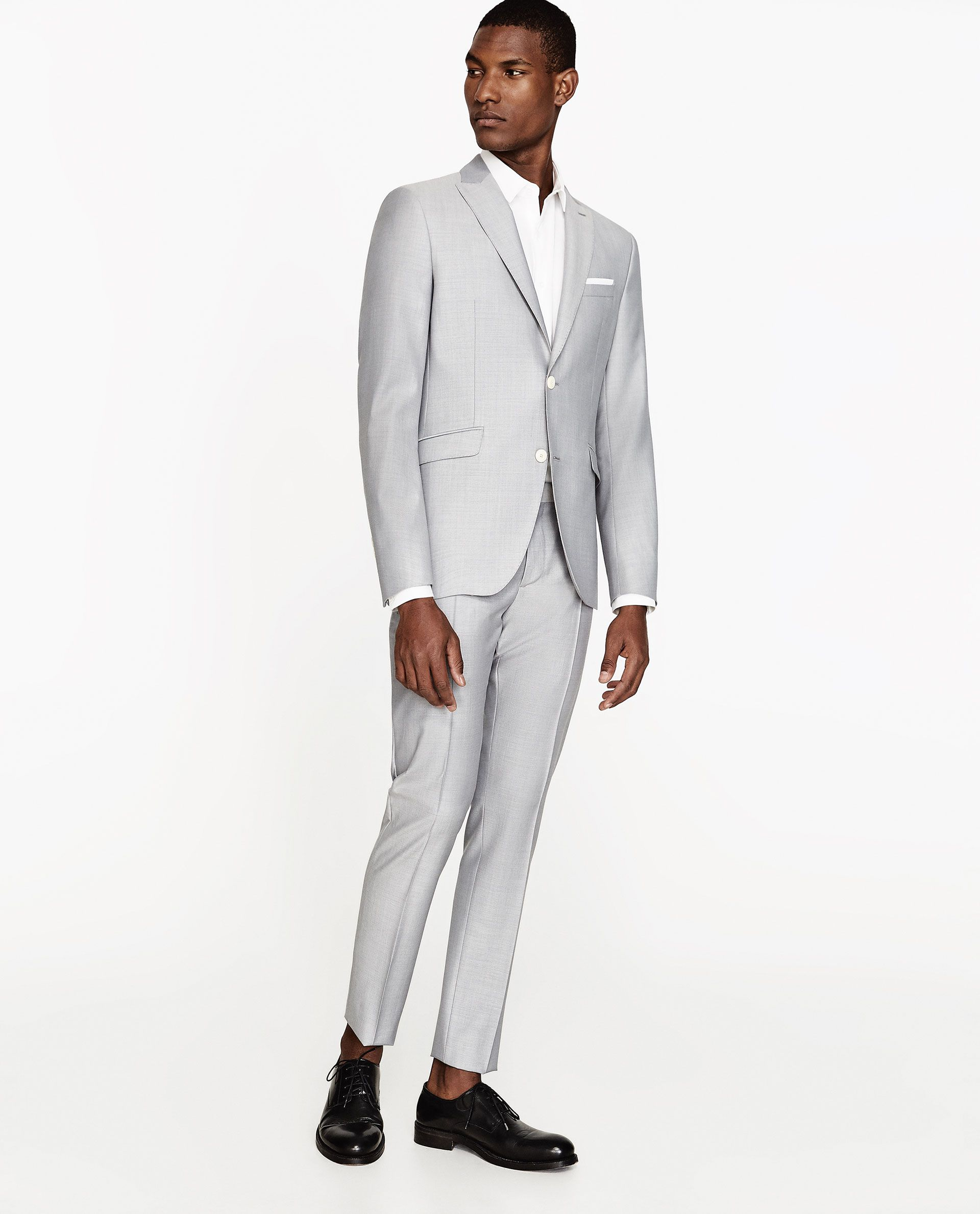 Image 1 of pearl grey mohair suit from zara wedding decorations wedding image 1 of pearl grey mohair suit from zara junglespirit Images