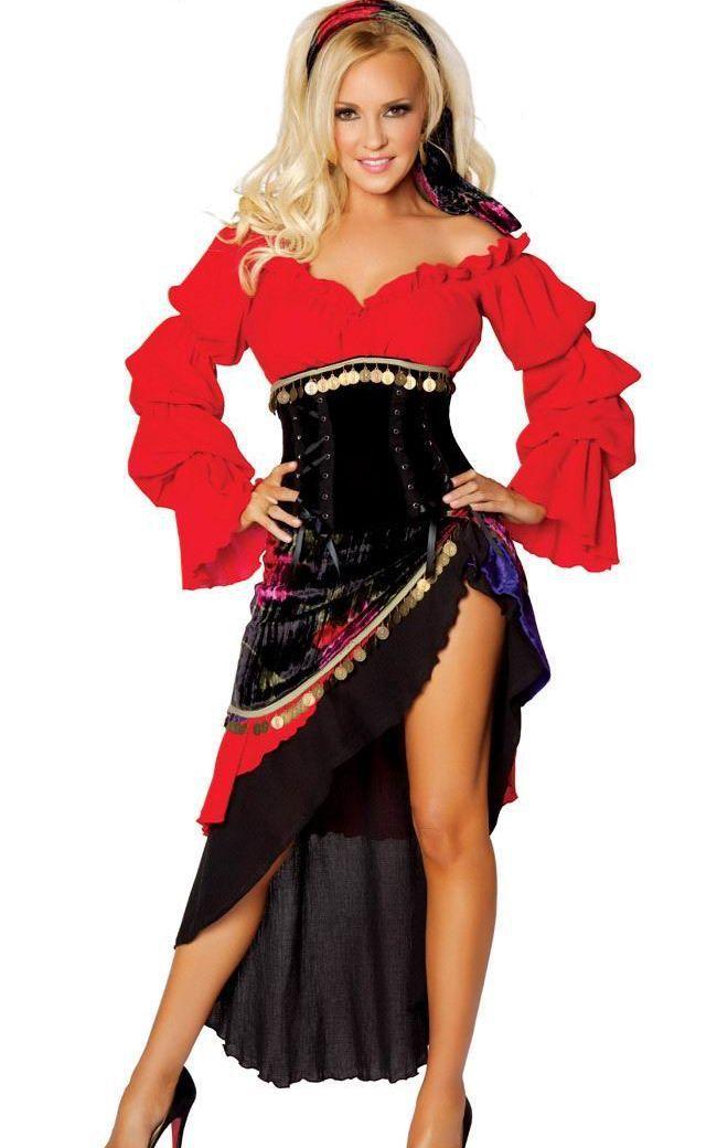 d97043cf9 frete grátis hot popular carnaval traje para as meninas sexy traje cigano  pp1173 Aluguel De Fantasias