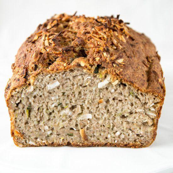 A delicious loaf of healthy vegan banana bread, that is gluten, dairy and refined sugar free. It's hearty and moist.