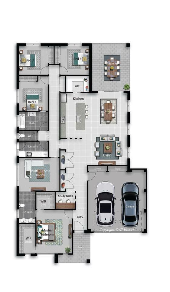 25 Layout casas modernas